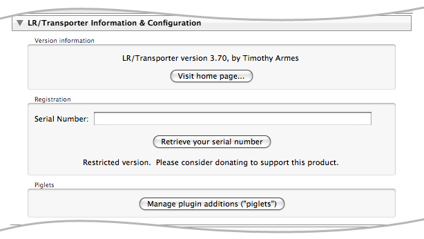 LR/Transporter - Import, Export and Manipulate your Metadata